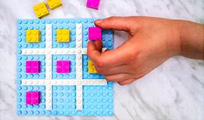 1. Make a Lego Tic Tac Toe Game Board